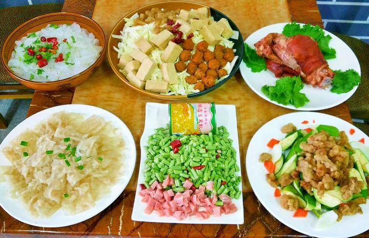 金穗压锅菜