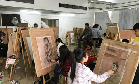 陕西书画研究会美术培训基地