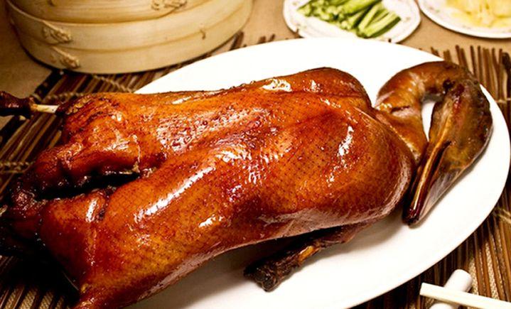北京脆皮啤酒烤鸭