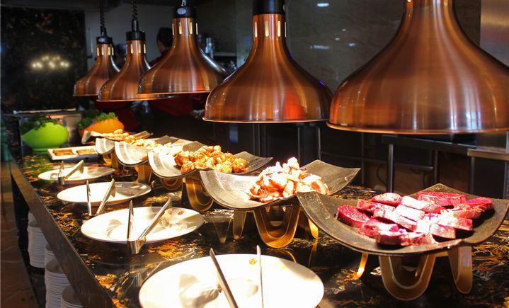 海捞香自助烧烤涮餐厅
