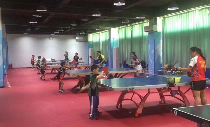 爱乒乓球馆少儿培训 - 大图