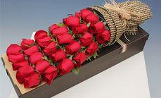 千寻鲜花33朵玫瑰礼盒鲜花