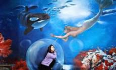 活的3D数字海洋馆周末单人