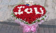 爱琴海鲜花99支玫瑰花束