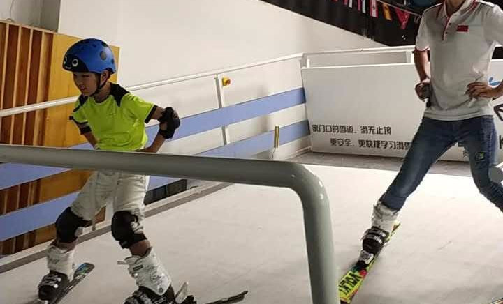首尚室内滑雪