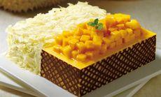 蛋糕榴芒双拼慕斯