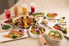 澳洲红虎虾海鲜烩饭四人餐