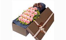春蕾精选19朵玫瑰礼盒套餐