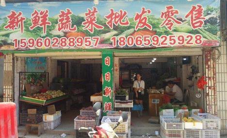 新鲜蔬菜批发零售