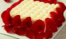 玫瑰情人榴莲蛋糕爱情款