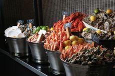 燃餐厅海鲜盛宴晚餐自助