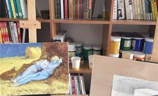 原石艺术单人零基础小幅油画