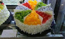 一朵小花10英寸乳脂蛋糕