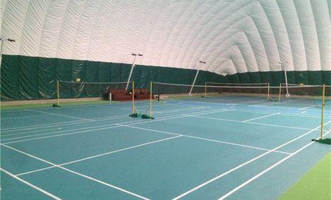安廷网球羽毛球气膜馆