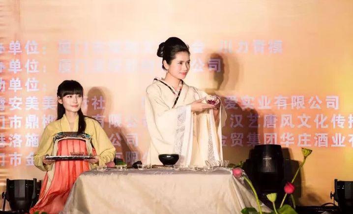 汉艺唐风舞台茶艺班
