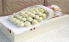 花急送33支玫瑰礼盒