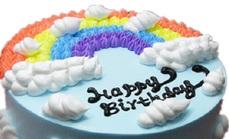 8英寸彩虹蛋糕5选1