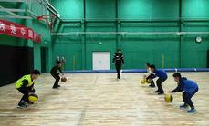 捍能国际室内篮球场