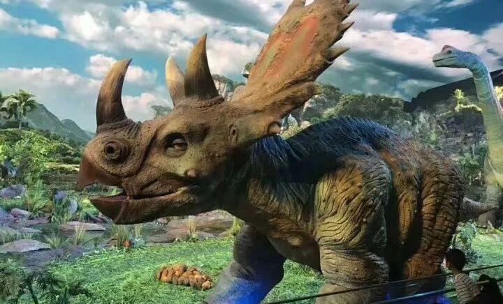 远去的恐龙 - 大图
