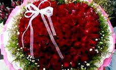 鲜花99朵玫瑰
