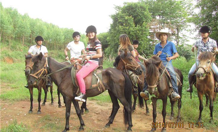 紫云谷骑马场.酷骑花卉场