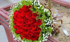 美涵178元33支玫瑰