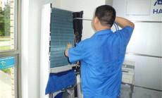 啄木鸟柜机空调清洗