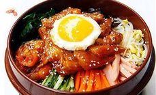 韩国料理石锅拌饭饭6选1