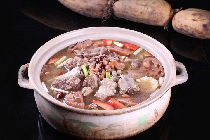 周莲藕藕王养生汤(金山路店)