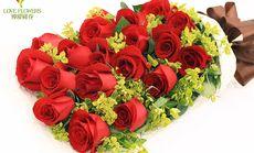 钟爱鲜花19朵礼盒