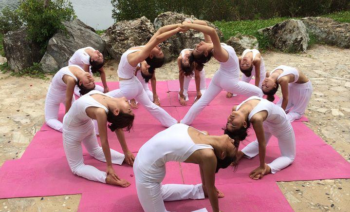 简瑜伽舞蹈