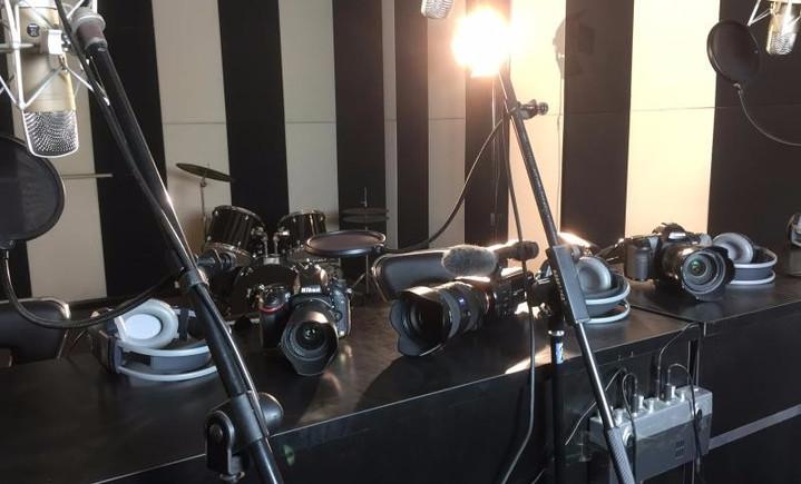 新媒体录音棚