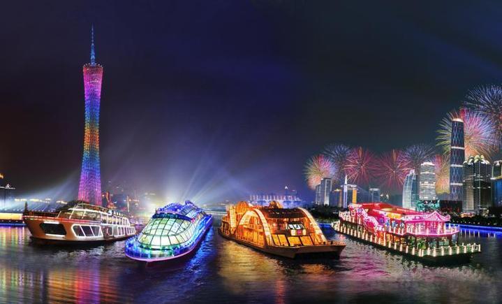 珠江夜游大沙头码头
