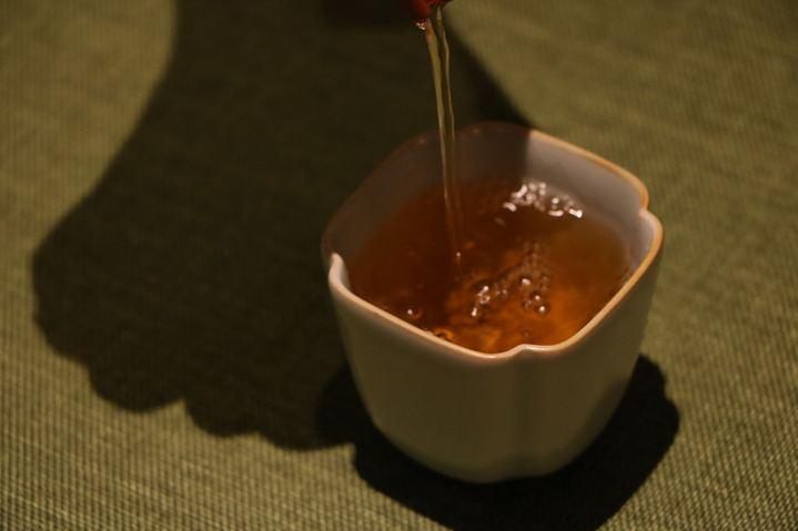 有容茶室单人高级茶道茶歇