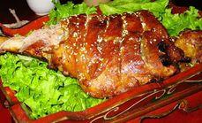 萍飨园碳烤羊腿108元