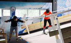傲雪体育室内滑雪初次体验