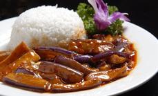 鱼香茄子套餐9.9元单人餐