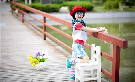 彩虹春天专业儿童摄影