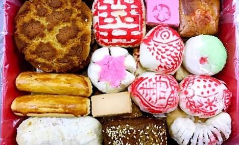 桂顺斋蛋糕八件套餐礼盒 - 大图