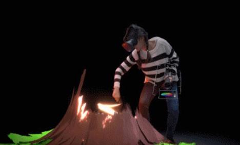 奇迹VR虚拟现实游戏馆 - 大图