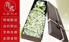 花式生活满天星鲜花礼盒