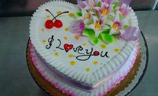 汇佳蛋糕房8英寸蛋糕