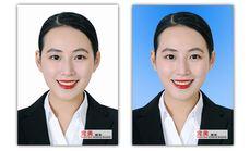 个人护照港澳台条形码证件照