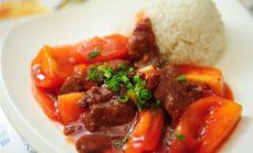 依云西红柿牛肉饭