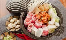 很有面韩式泡菜肥牛锅套餐