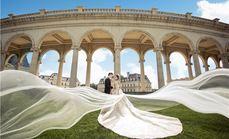 巴黎婚纱摄影华贵套系