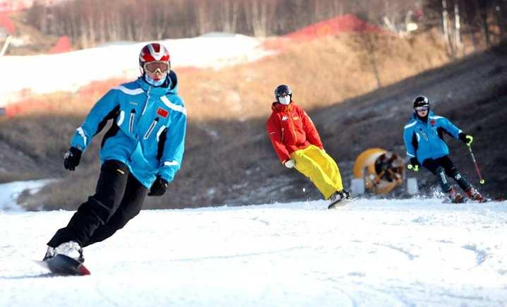 豫龙滑雪场 - 大图