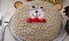 爱可可8英寸蛋糕
