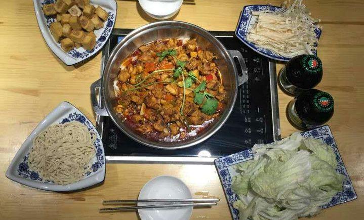 九食牛板筋火锅