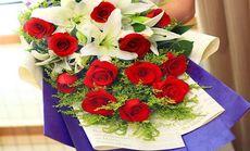 香珺楠19支红玫瑰